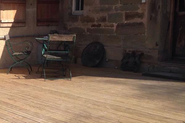 holz terrasse douglasie diehlen schreinerwerkstatt seeger. Black Bedroom Furniture Sets. Home Design Ideas