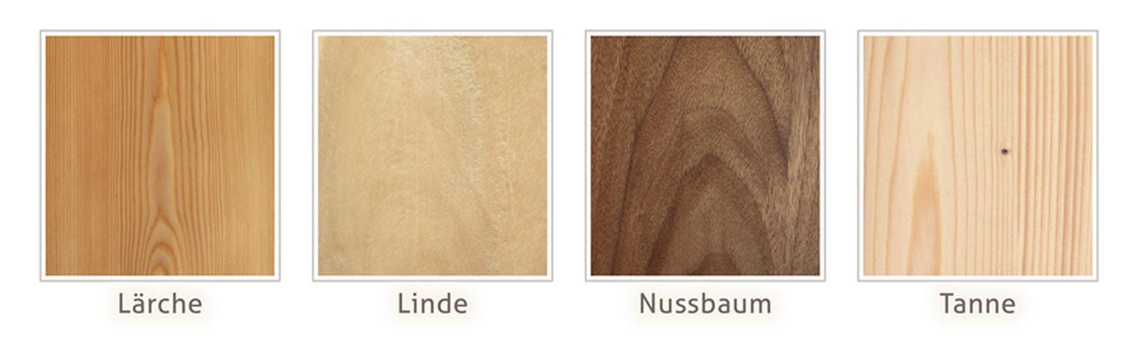 Schreinerwerkstatt Seeger :: Holzarten für Möbelbau